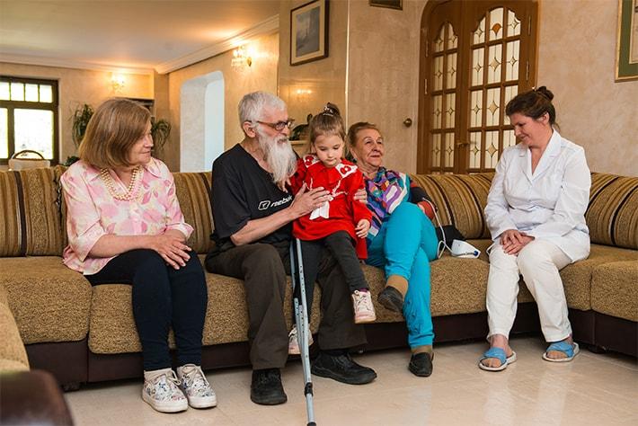 современные дома для пожилых